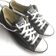 size 40 418cc 70d48 Converse Shoes   Grey Converse All-Star Chucks Low Tops   Color  White