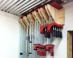 How To Make A Bessey And Jet Parallel Clamp Rack And