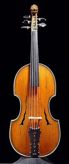 Violin Quinton by Joachim Tielke (Hamburg, ca. 1700) Violin with five strings