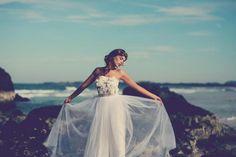 tulle robe de mariage