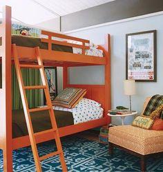 My 4 year old wants an orange and blue bedroom   http://4.bp.blogspot.com/_x9KSBX8x7o8/TIbfODHL30I/AAAAAAAADRo/IIxdqAjMzr0/s400/gasl20_kidsbedroom.jpg