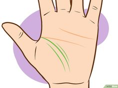 How to Read Palm Lines. Palm reading, also known as palmistry, involves looking at the shapes of your hands and the lines on them to possibly tell you about your life and personality. While there is no clear evidence that your palm lines. Basic Palm Reading, Palmistry Reading, Palm Lines, Science Puns, Fortune Telling, Interesting Information, Palm Of Your Hand, Pressure Points, I School