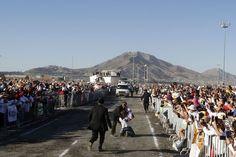 nice El día que el Papa borró la frontera México-EEUU