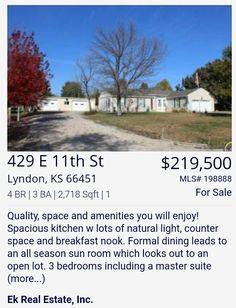 Home For Sale - Brandy Criss Engler - (785)383-3169 - bbmcriss@yahoo.com - Ek Real Estate Inc. ● https://brandysellskansas.blogspot.com/ & http://ekhomes.com ●