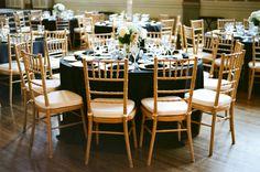 Black and Gold Wedding Reception | photography by http://www.tamaragruner.com/