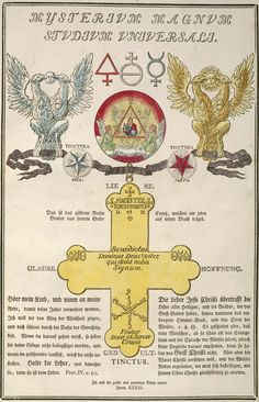 'Geheime Figuren der Rosenkreuzer, aus dem und Jahrhundert' ('Secret Symbols of the Rosicrucians from the and Centuries') to the History of Science and Technology subsite, Rose Croix, Esoteric Art, Masonic Symbols, Templer, Mystique, Freemasonry, Book Of Shadows, Archetypes, Tarot Decks