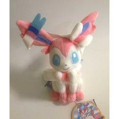 Pokemon 2013 Sylveon Takara Tomy Plush Toy