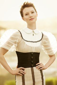 A Modern twist to a timeless classic ~Edwardian Fashion by Louis Vuitton  ~ i<3it
