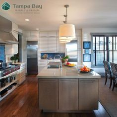 There are several engineered stone countertop brands on the market, and one of them, Cambria, is a popular choice among homeowners. Cambria countertops are found in both the kitchen and the bathroom, and many homeowners fall in love with its beauty. #cambriacountertops #tampabay #kitchencountertop
