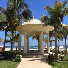 Wedding gazebo at Hyatt Ziva Los Cabos