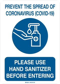 Brady Please Use Hand Sanitizer Before Entering Sign - Gloves, Glasses and Safety,Facility Maintenance and Safety Health And Safety Poster, Safety Posters, Hand Hygiene Posters, Safety Signs And Symbols, Hand Washing Poster, Learning English For Kids, Restaurant Signs, Pin On, Learning Numbers