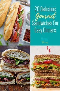 Specialty Sandwiches, Gourmet Sandwiches, Sandwiches For Lunch, Panini Sandwiches, Best Sandwich Recipes, Best Burger Recipe, Chicken Sandwich Recipes, Pork Recipes For Dinner, Lunch Recipes