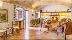 mediterrán nappali rusztikus lakberendezés - Luxuslakások és házak Decor, Furniture, Room, Table, Home Decor, Room Divider, Divider, Mirror