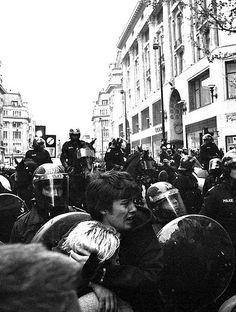 London riot 2000