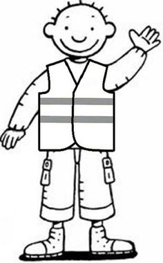 Jules in het verkeer Coloring Sheets, Coloring Pages, Community Helpers, School Themes, Paw Patrol, Sticker Design, Preschool Activities, Lesson Plans, Kindergarten