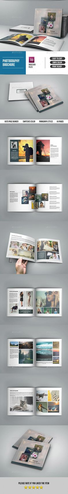 Square Photography Brochure-V90 - Catalogs #Brochures Download here: https://graphicriver.net/item/square-photography-brochurev90/19495290?ref=alena994