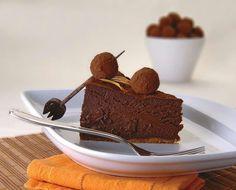 Cheesecake chocolate Sublime Chocolate, Chocolate Cheesecake, Pudding, Desserts, Food, Truffles, Tailgate Desserts, Deserts, Custard Pudding