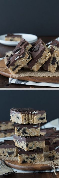 Oreo Scotcheroos - oh my gosh! If you love oreos and peanut butter, you will LOVE these!