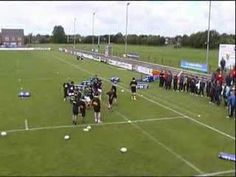 Rugby Handling - YouTube Rugby Workout, Rugby Drills, Rugby Coaching, Rugby Training, Problem Solving, Plays, Youtube, Sport, Games