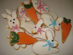 Cookies de Páscoa.  www.maebacana.com.br