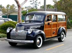 1940 Chevy Woodie