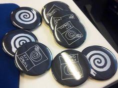 Pin Badges in the Kyy Lair! Pin Badges, Behind The Scenes