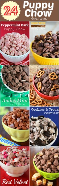 24 puppy chow recipes
