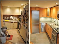 Modern Kitchen Remodel Before And After remodeled kitchens before and after | kitchen remodel - before and