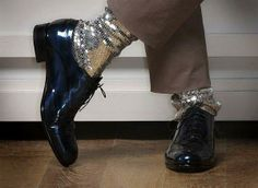 sequin socks....