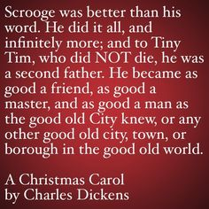 Dickens Quote From A Christmas Carol Jacob Marley To Scrooge