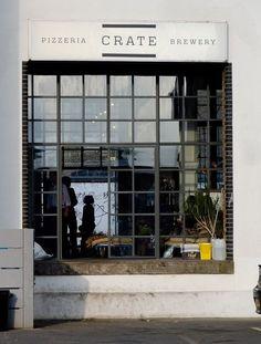 maddierose:  Crate Brewery, Hackney Wick  Gorgeous windows!