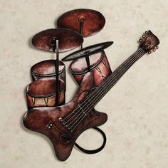 "Music Metal Wall Art musical metal sculptures | contemporary metal wall art ""small"