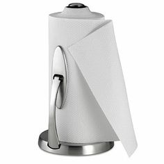 Bed Bath And Beyond Paper Towel Holder Prepossessing Contemporary White Paper Towel Holder  Cleverly Concealing The Roll Design Decoration