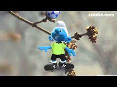 Wenn Schlümpfe mit der Rute wedeln....... Schlumpf von der Schlümpfe Familie Zoobe deutsch Frühling Weitere 3.000 Videos auf http://web500.de