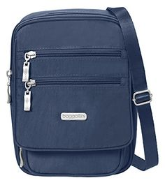Baggallini Journey Crossbody Travel Bag Pacific One Size * Be sure to check out this awesome product.