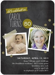 Blackboard Snapshots - Adult #Birthday #Party Invitations - Stacey Day - Eucalyptus Green