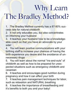 Why do Bradley method?