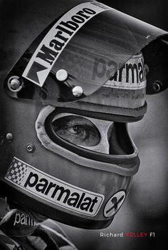Tenacity © Richard Kelley - Niki Lauda in Watkins Glen, 1978 - Motorsport F1 pictures