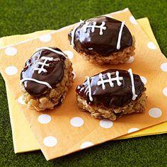 End Zone PB Chocolate Footballs