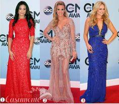 Madrinhas de casamento: Vestidos de festa das famosas-CMA