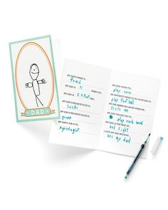 Make Dad's day extra-special this year with these Father's Day crafts for kids.Kids can tell Dad exactly what they love about him with this fill-in-the-blank card.Get the Dad Libs Template.