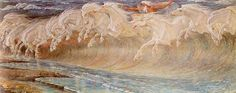 The Horses of Neptune by Walter Crane