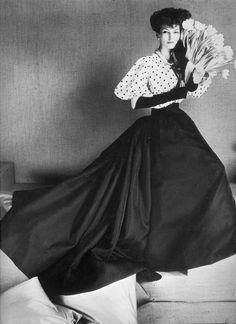 Joanna McCormick, photo by Henry Clarke, 1957