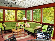 Interior of 3 Season Porch - 3 & 4 Season Rooms Photo Gallery - Archadeck of Suburban Boston
