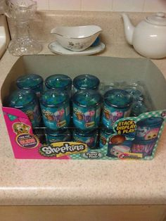 Shopkins Season 4, Ebay Auction, Candy Jars, Moose, Blinds, Mystery, Lunch Box, Packing, Seasons