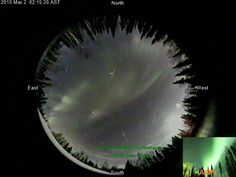 Super show in North Pole tonight! With a little ice on the cam! ABN Aurora Cam | Aurora Borealis Notifications