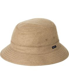 c643bd98954ba2 RVCA HATS OAK BUCKET HAT Hats For Men, Panama, Bucket Hat, Snapback,