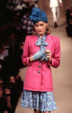 Yves Saint Laurent Haute Couture S/S 1996