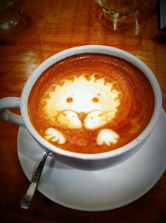 Coffee! Creative lighter fluid