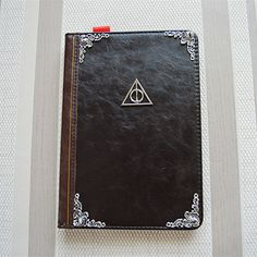 Harry potter deathly hallow Leather ipad 2 3 4 5 6 air Case Cover vintage book #handmade
